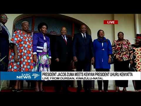 President Jacob Zuma, Uhuru Kenyatta meet for bilateral talks