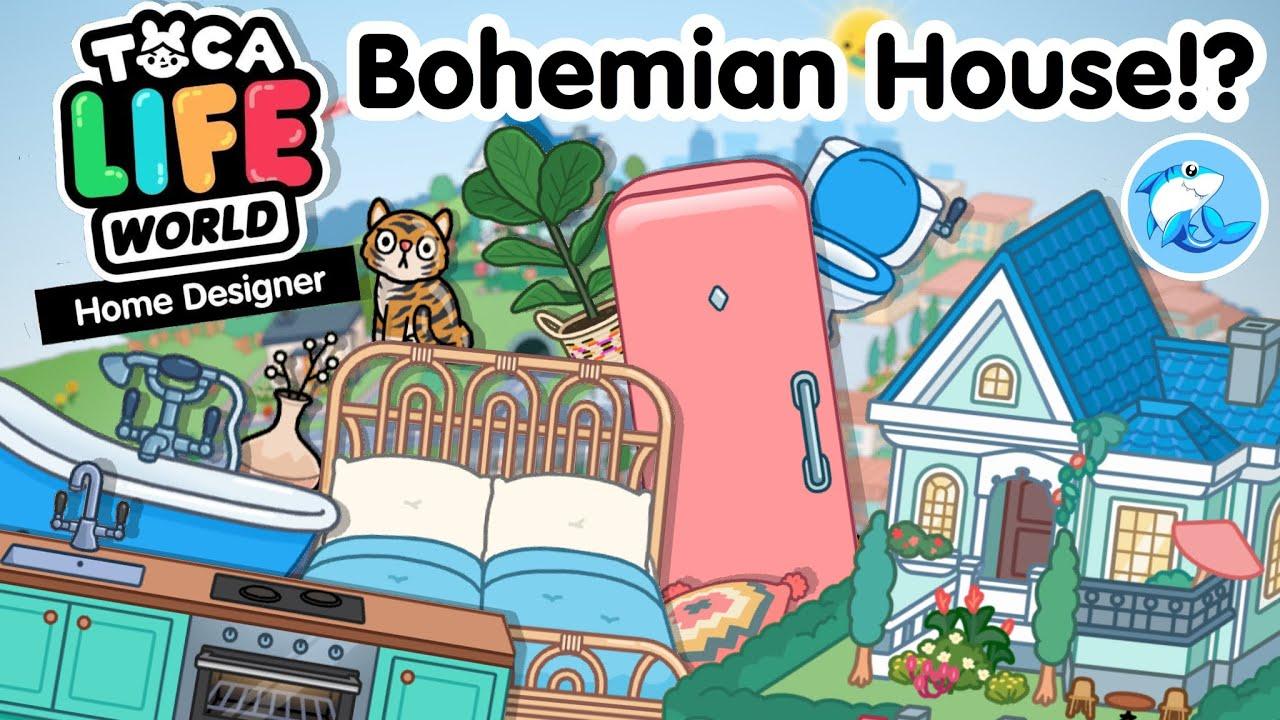 Toca Life World | Home Designer (Bohemian House!?)