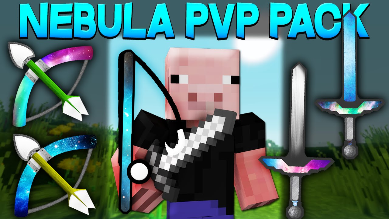 Minecraft - BEST PVP PACK - SPACE/NEBULA (PVP/Factions ...