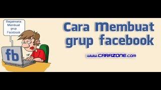 cara membuat grup facebook baru