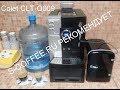 Colet CLT-Q009 приготовление эспрессо и американо, программирование количества воды.