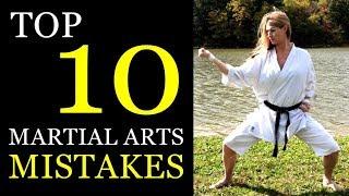 Top 10 Martial Arts Training Mistakes   Kempo, Karate, Boxing, Kickboxing, MMA
