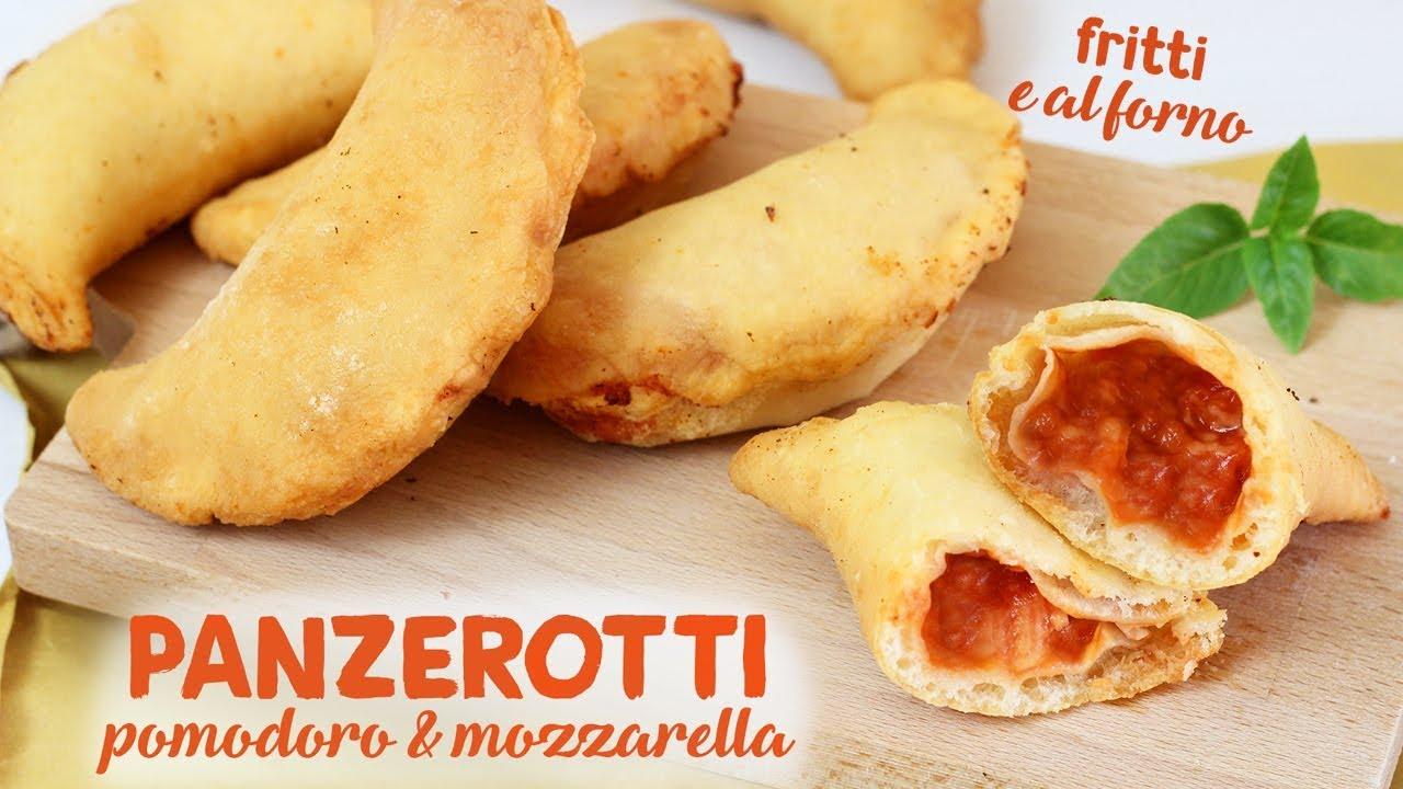 best service a07e6 90276 PANZEROTTI POMODORO E MOZZARELLA | ricetta facile | FRITTI E AL FORNO |  calzoni