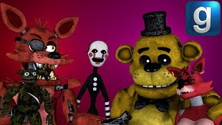 Gmod FNAF | Sexy Foxy And Sexy Mangle Fall In Love