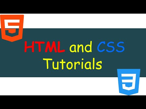 HTML And CSS Tutorials: Part 6 - HTML And CSS Contact Form