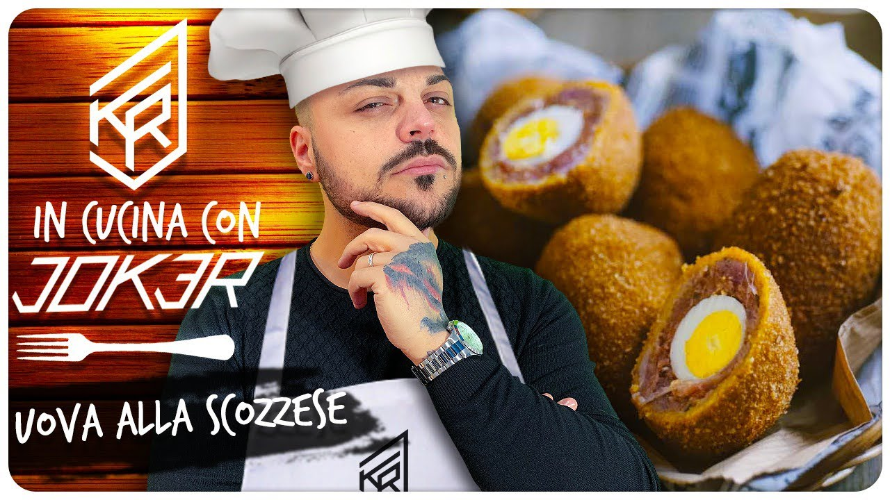 UOVA ALLA SCOZZESE  In Cucina con JOKER   YouTube