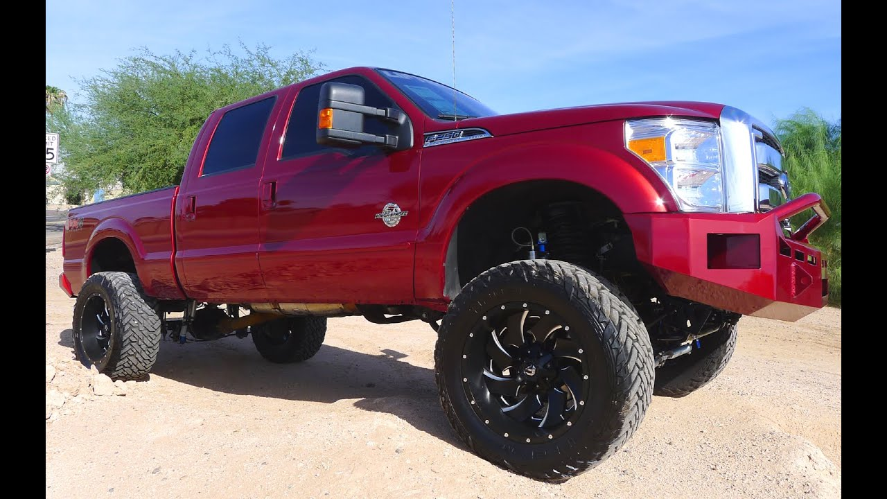2015 ford f 250 super duty lariat crew cab diesel lifted truck for sale youtube. Black Bedroom Furniture Sets. Home Design Ideas