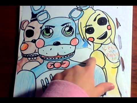 5 ночей с фредди картинки рисунки