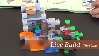 LEGO Minecraft - The Cave 21113: Unboxing & Build