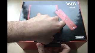 Nintendo Wii Mini Unboxing