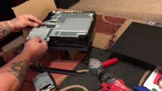 How to install a 4tb laptop hard drive in a Playstation 4 pro
