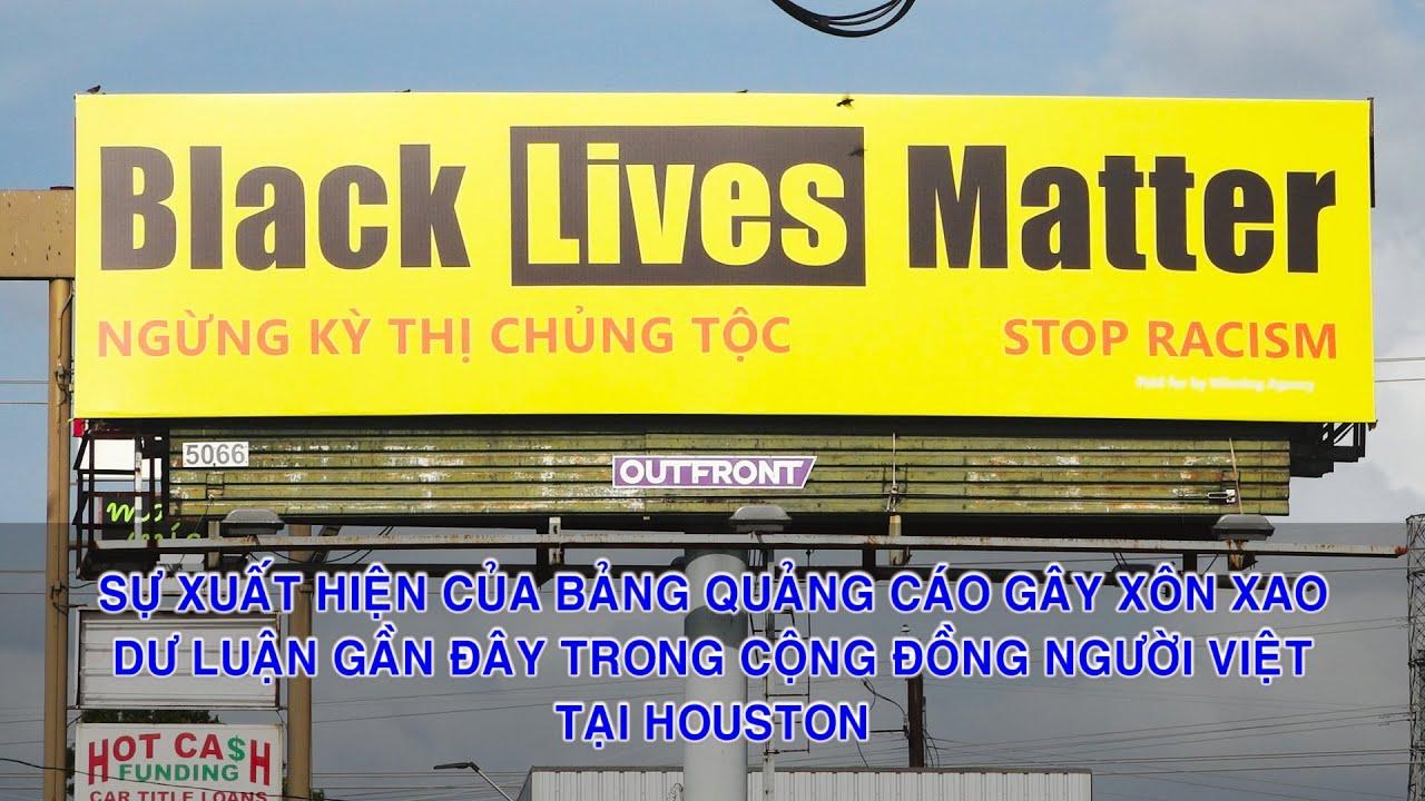 PSCD-Sự xuất hiện của tấm bảng quảng cáo gây xôn xao dư luận gần đây tại Houston.