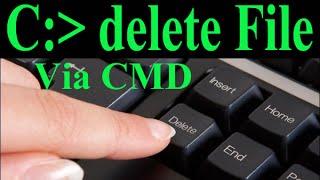 Como deletar arquivos e pastas, via prompt de comando CMD