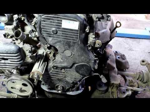 Toyota Noah 3S FE  Тойота Ноах 2000 года  Финал установка и старт  двигателя,  ремонт   6 часть