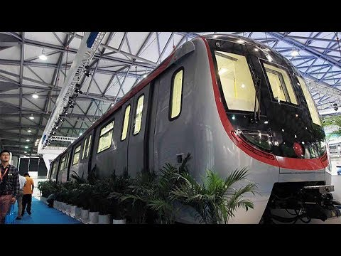 CRRC signs $400-mln contract of unmanned trains with Malaysia
