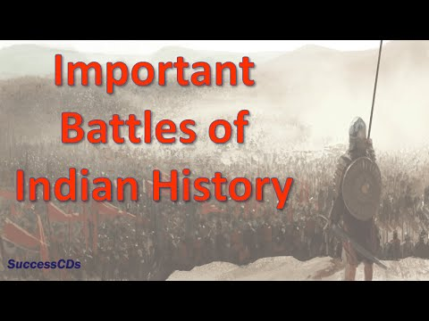 Important battles in Indian History