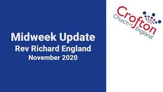 Midweek Update Nov 2020