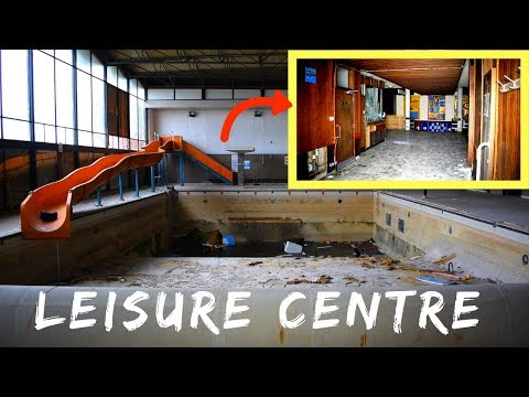 Abandoned Leisure Centre With Swimming Pool (FLOODED)