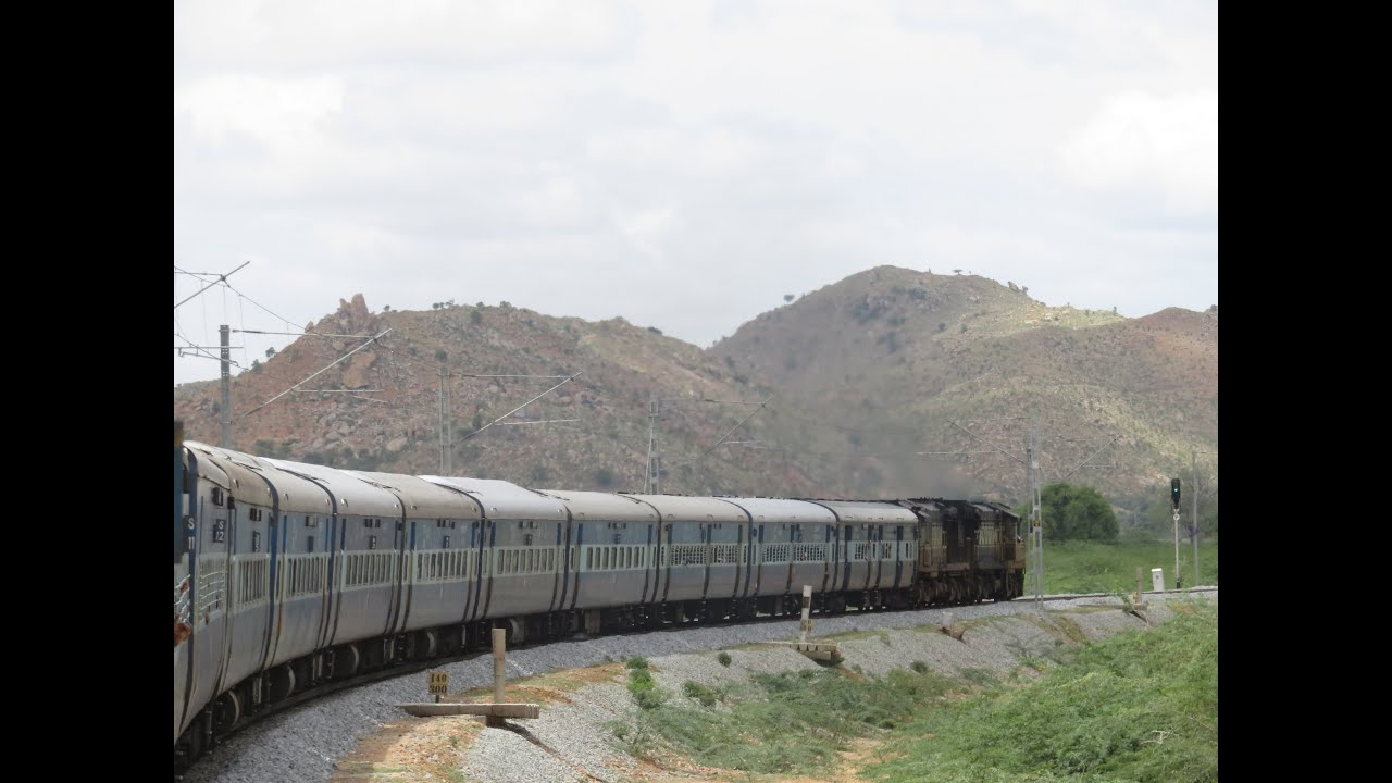 From the Archives: Hyderabad to Bangalore Full Journey- Highlights from the Wainganga Express