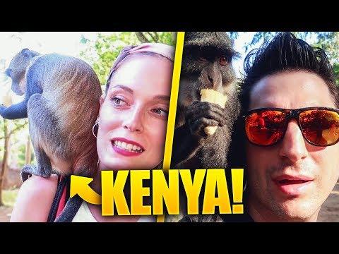 KENYA #7 - LE SCIMMIE CI SALTANO ADDOSSO!! PAZZESCO! ANIMA E LASABRI