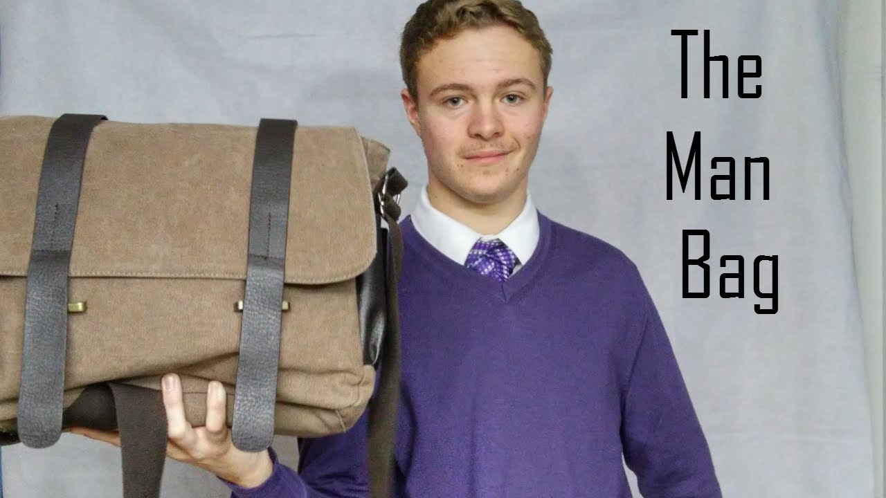 Man Bag: Types of Bags, For All Your Accessories - YouTube