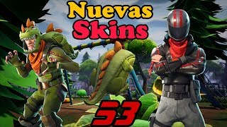 Waiting for the new T-Rex skins, Burnout _ Fortnite Battle Royale _ Gameplay in Spanish _ Part 53