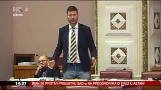 Ivan Pernar -  Rasprava s Miroslavom Tuđmanom