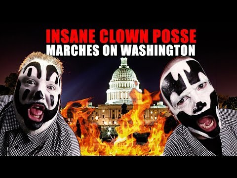 Insane Clown Posse to march on Washington.