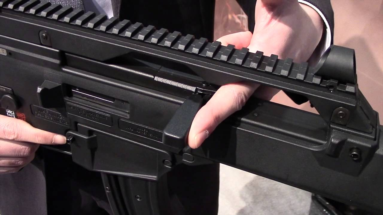 Walther Expands Tactical Rimfires with H&K's G36   Gun Digest