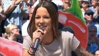 Christina Stürmer - In ein paar Jahren + Millionen Lichter + Ich lebe - ZDF Fernsehgarten 19.08.2018