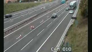 IMAGE CHOC accident de la route en directe