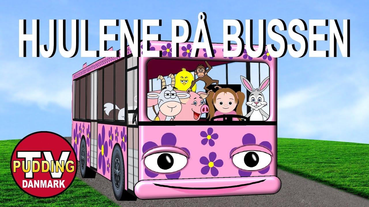hjulene på bussen drejer rundt rundt rundt