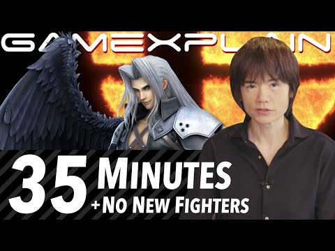 """Sakurai Presents """"Sephiroth"""" Will Be 35 Minutes! + No Other Character Reveals During the Stream"""
