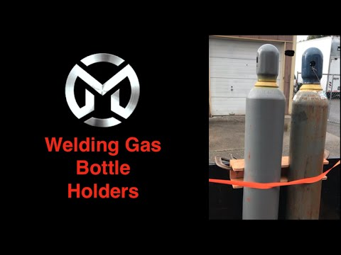Welding Gas Bottle Holders