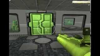 gioco FPS test level creato da casa