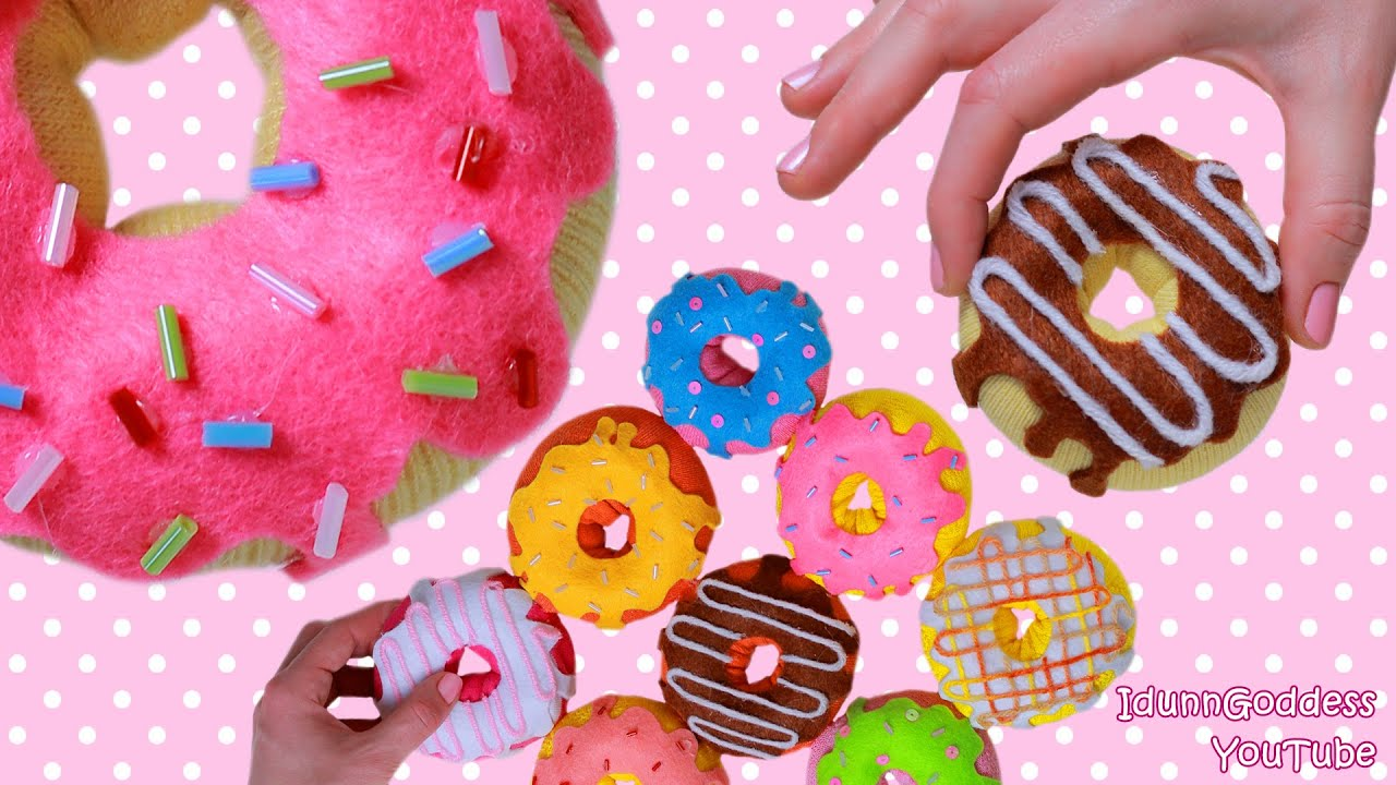 How to make donuts out of socks 9 diy donuts no sew projects how to make donuts out of socks 9 diy donuts no sew projects pillow stress toy hand warmers youtube solutioingenieria Images