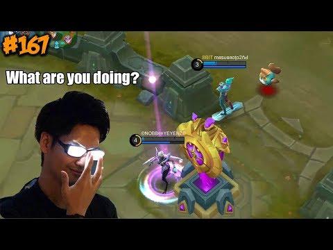 Mobile Legends WTF | Funny Moments Episode 167