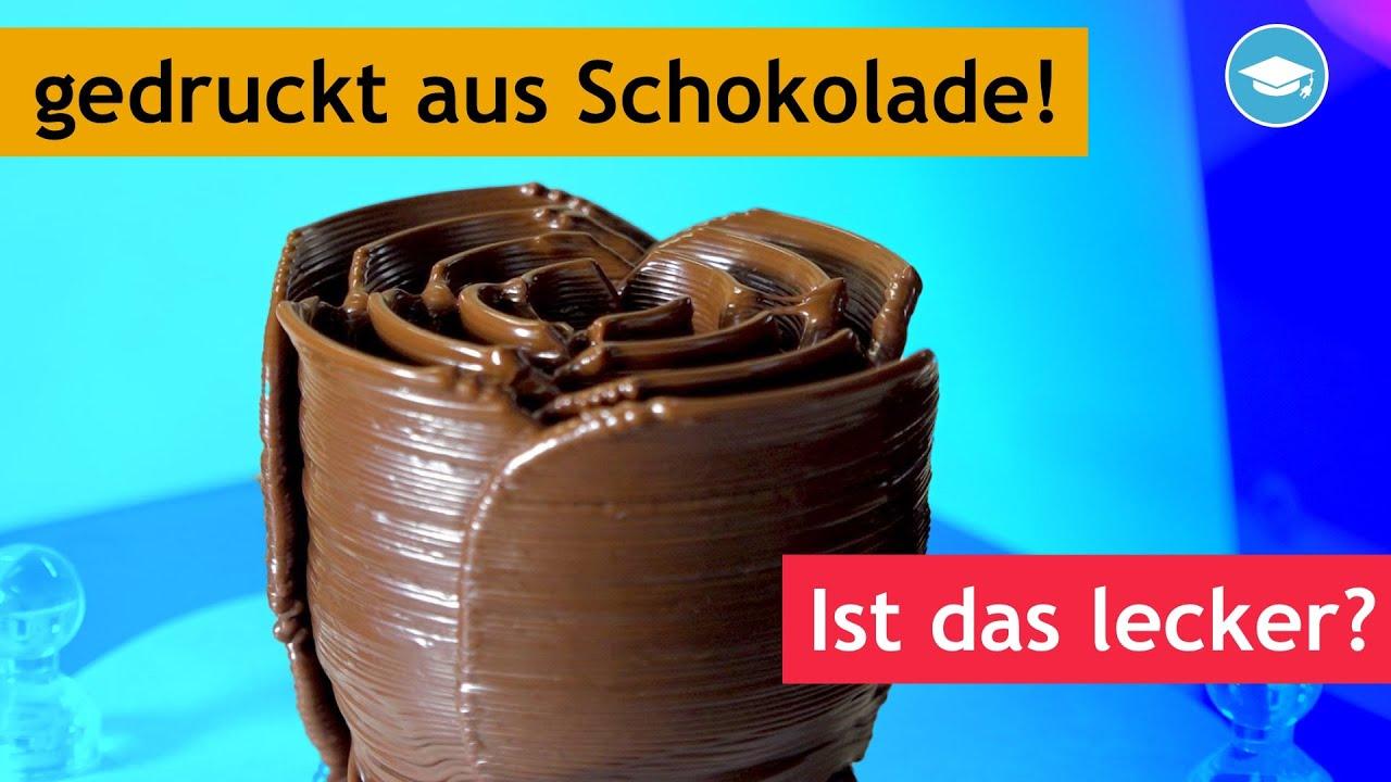 3D-Druck mit Schokolade! Kommt dabei was gutes raus? Wiibox Sweetin ausprobiert