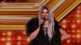 The X Factor UK 2018 Lady Freida Wylde Auditions Full Clip S15E08