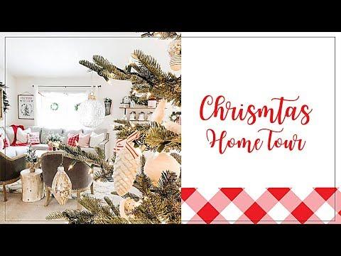 CHRISTMAS HOME TOUR 2019 | MODERN FARMHOUSE CHRISTMAS DECOR
