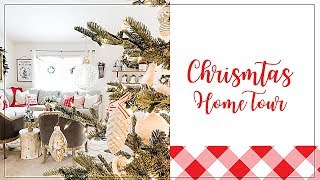 CHRISTMAS HOME TOUR 2019 | MODERN FARMHOUSE CHRISTMAS DECOR