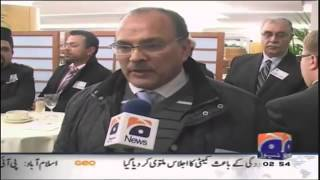 Interviews by Geo at Ahmadiyya Muslim EU Conference 4 Dec 2012