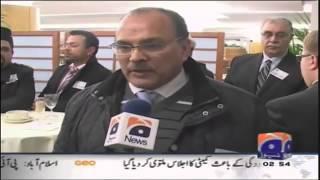 Interviews by Geo at Ahmadiyya Muslim EU Conference 4 Dec 2012