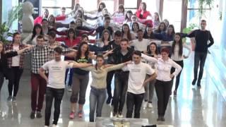 Sirtaki / Zorba's dance flashmob (at Valahia University of Târgovişte)