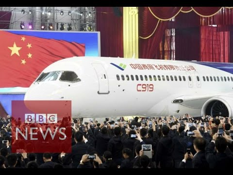China unveils passenger jet C919 - BBC News