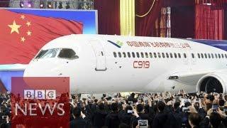 Download China unveils passenger jet C919 - BBC News Mp3 and Videos