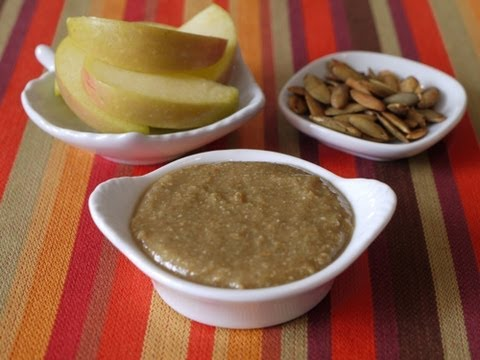 Healthy Snacks for Kids: Pumpkin Seed Butter - weelicious