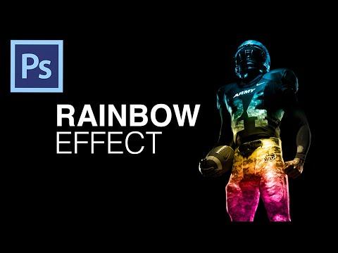 Create An Easy Rainbow Effect In Photoshop