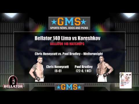 Bellator 140: Lima vs Koreshkov Picks and Predictions