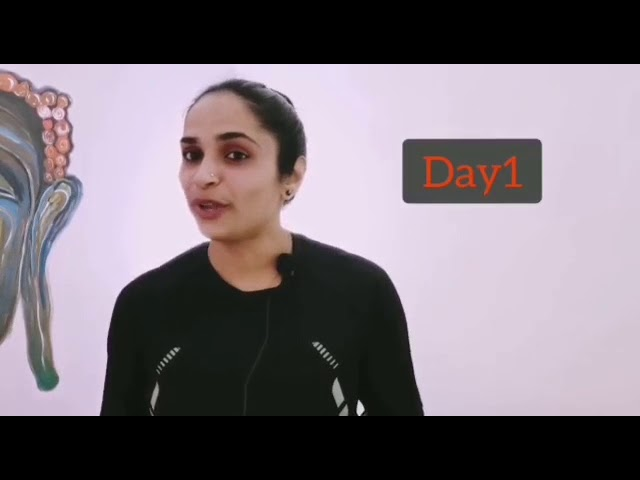 10 Days Belly Fat Challenge | Day 1 | Dr. Akhila Vinod | Yoga | Exercise | Diets